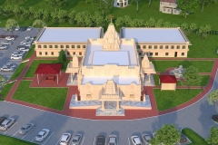 3D-Temple-Bird-View