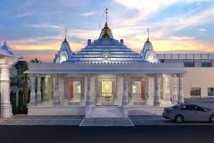 3D-Temple-Night-Render